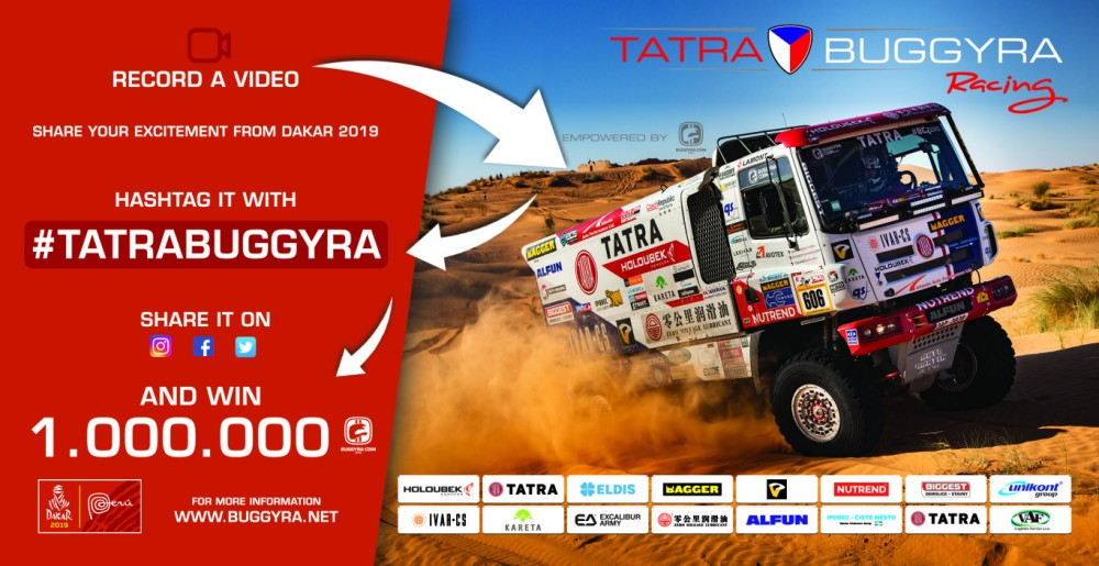 Let's create together the unique content of the rally Dakar 2019! / ¡Creemos juntos el contenido único del rally Dakar 2019!