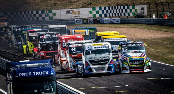 European Truck Racing Championship to begin at Most