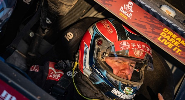Enge is excited about racing in desert again