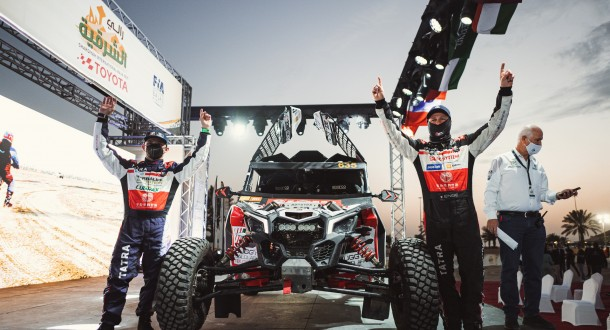 Tomáš Enge to race in Baja Saudi, but with one big change