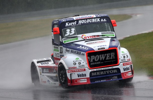 Heavy Rain Threatens Sunday Programme of the Czech Truck Prix