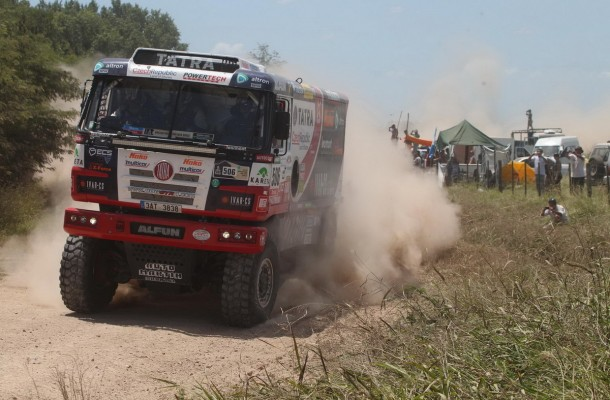 After First Stage Kolomý Shares Third Rank, Second Rank Missed Due to Communication Issue and Truck upside Down