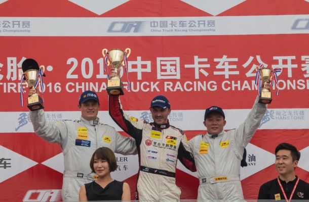 Vršecký Celebrates another Chinese Double Heading Towards Champion