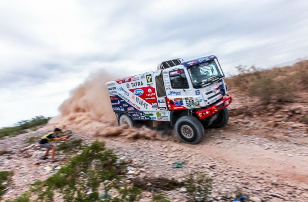 For Racing Specials Tatra Phoenix in Finish and Loprais Best Czech Pilot of This Dakar