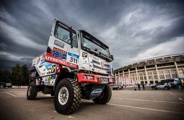 "Tatra Buggyra Racing Reports ""Ready for Combat"" from Moscow"