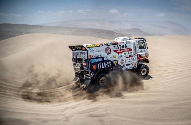 "Šoltys Jumps into Second Half with Sixth Stage Rank! Kolomý Ranks Second in ""Small Dakar"""