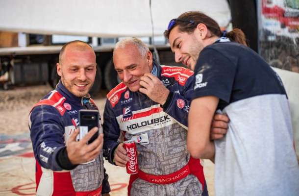 Punctures did not stop Buggyra Racing drivers from improving
