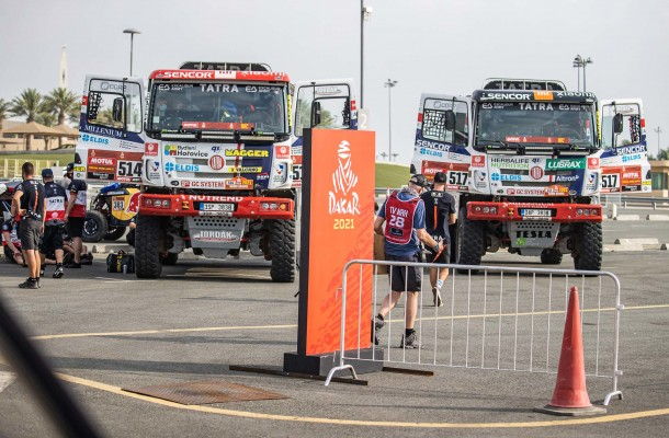 Buggyra is ready to roll! Dakar can get underway