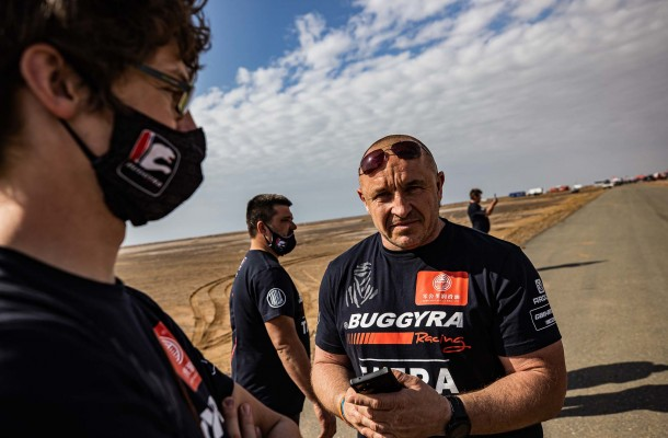 At Dakar what matters is your position in the rankings after the event