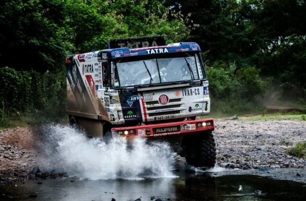 Kolomý Wins 3rd Stage of Dakar Rally!